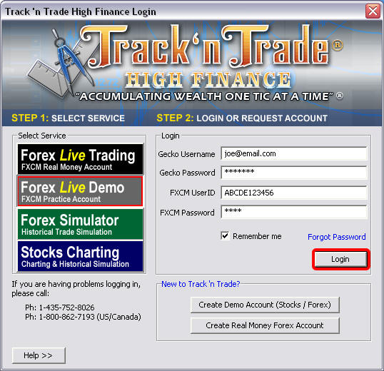 Gecko Software - Support - Track 'n Trade 4.0 Installation Instructions - Commodity / Futures